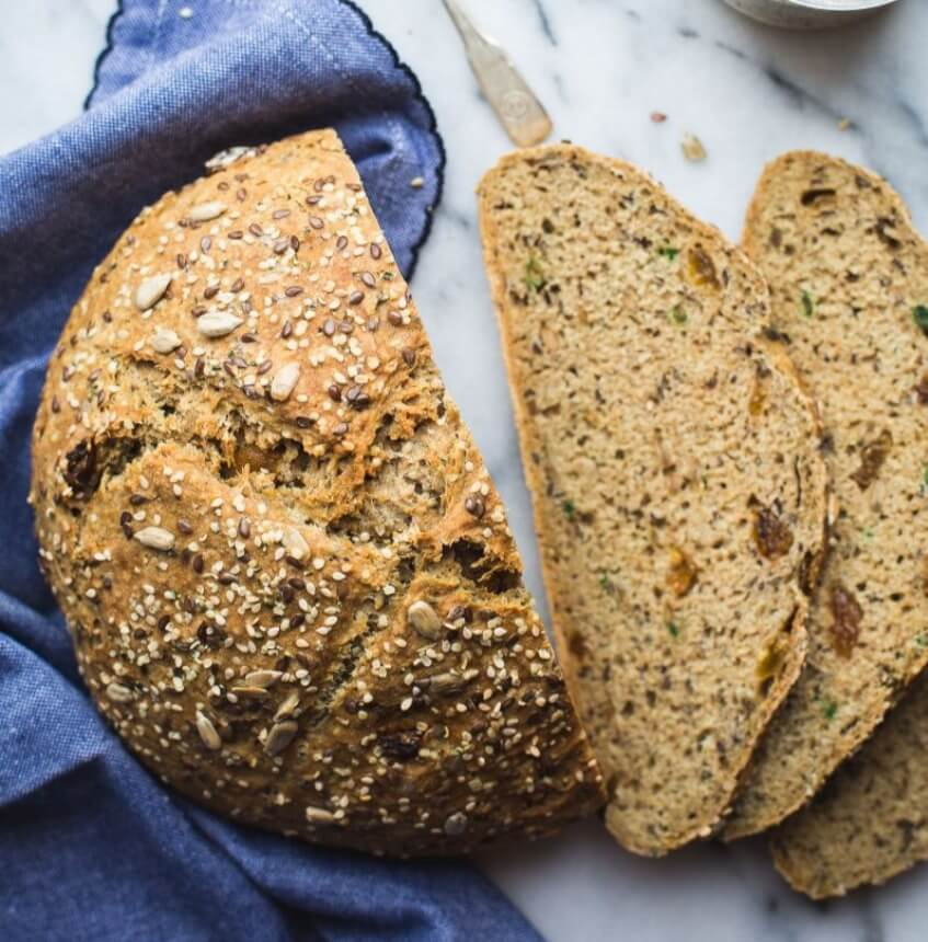 Brown Seeded Wholemeal Soda Bread