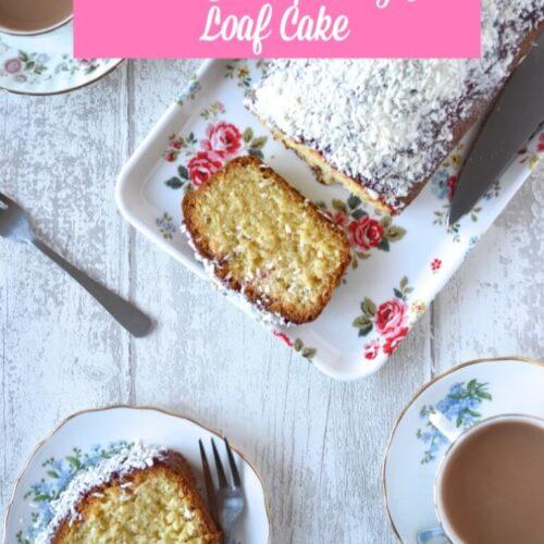 COCONUT AND RASPBERRY JAM LOAF CAKE recipe
