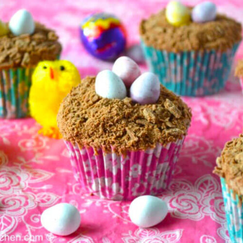 EASTER CHOCOLATE CUPCAKES recipe
