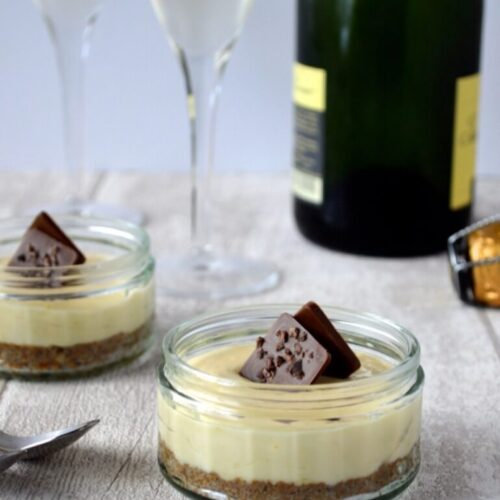Passionfruit Cheesecake Pots Recipe