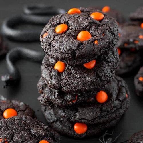 dark-chocolate-halloween-cookies-3