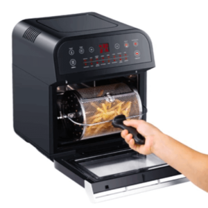 Air fryer Oven with Rotisserie, Deluxe 12.7-Quart