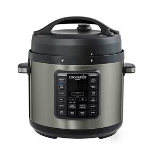 Crock Pot Express 6-qt Black Stainless Pressure Cooker