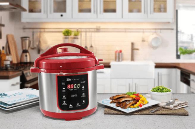 Elite Platinum Maxi-Matic 4 Quart Electric Pressure Cooker